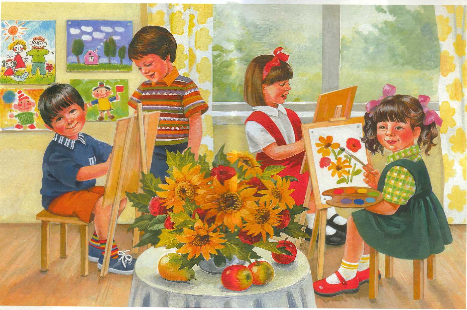 История детского сада картинки