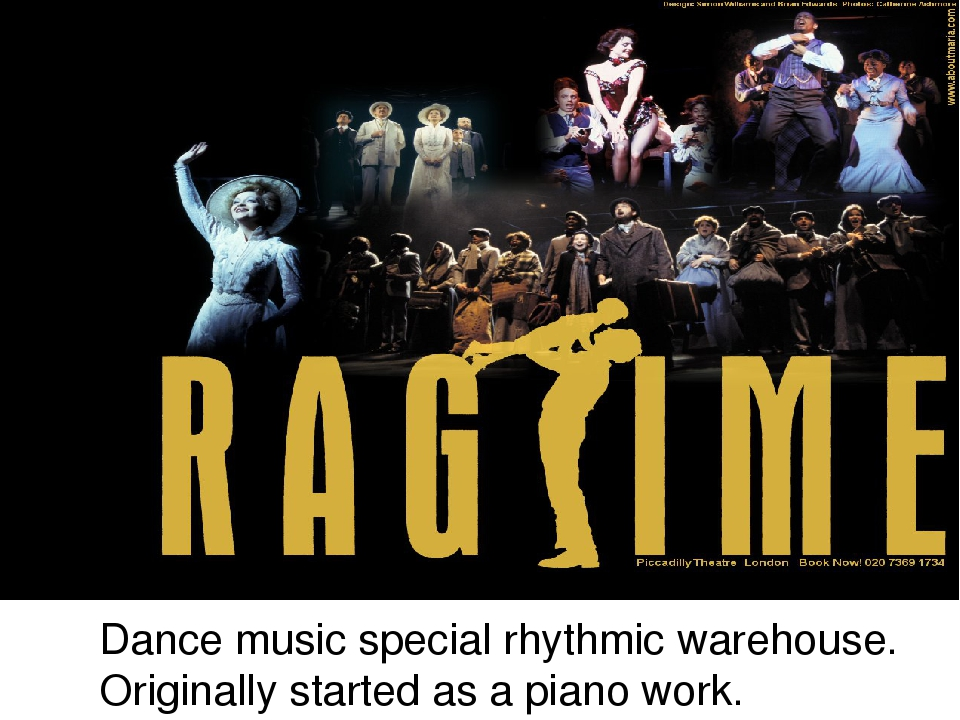 Dance music special rhythmic warehouse. Originally started as a piano work.