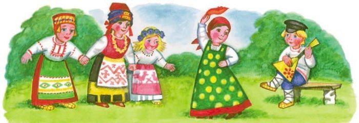 Рисунки к русской народной песне калинка малинка