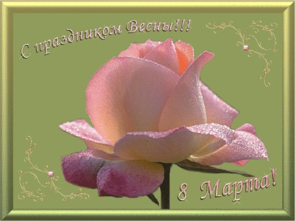 Новорожденной дочкой, открытка спасибо и тебя с праздником 8 марта