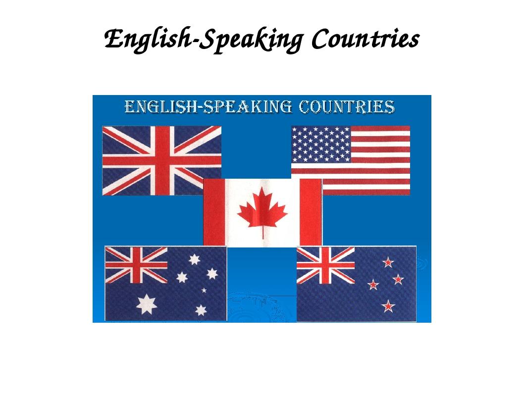 флаги англоязычные страны картинки развитие средств