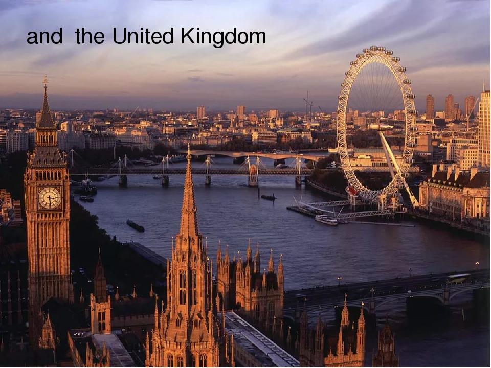 and the United Kingdom