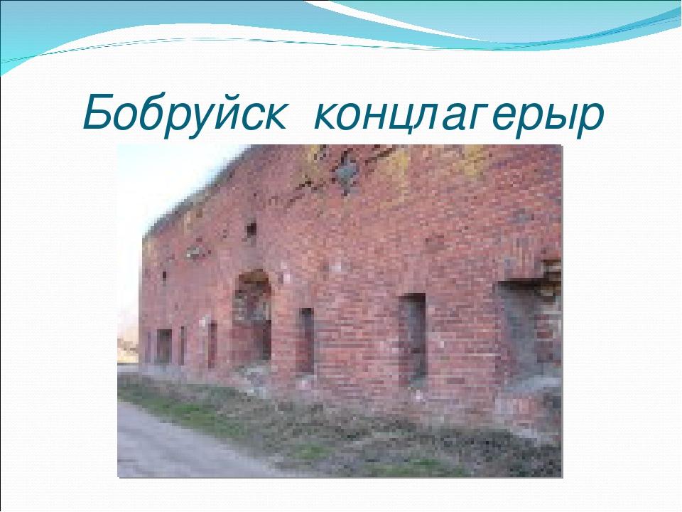 Бобруйск концлагерыр