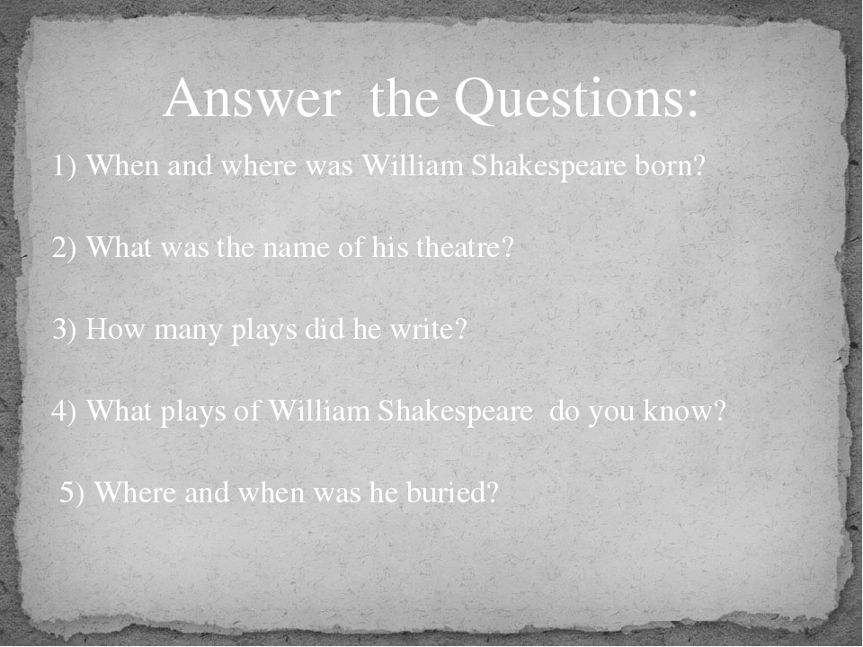 did shakespeare write his plays essay Free shakespeares plays papers social status in shakespeares plays - in shakespeare's time but if shakespeare didn't write his works, then who did.
