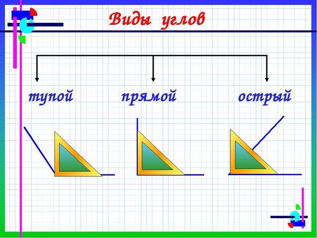 Решебник Для 4 Класса По Матетике Виды Углов