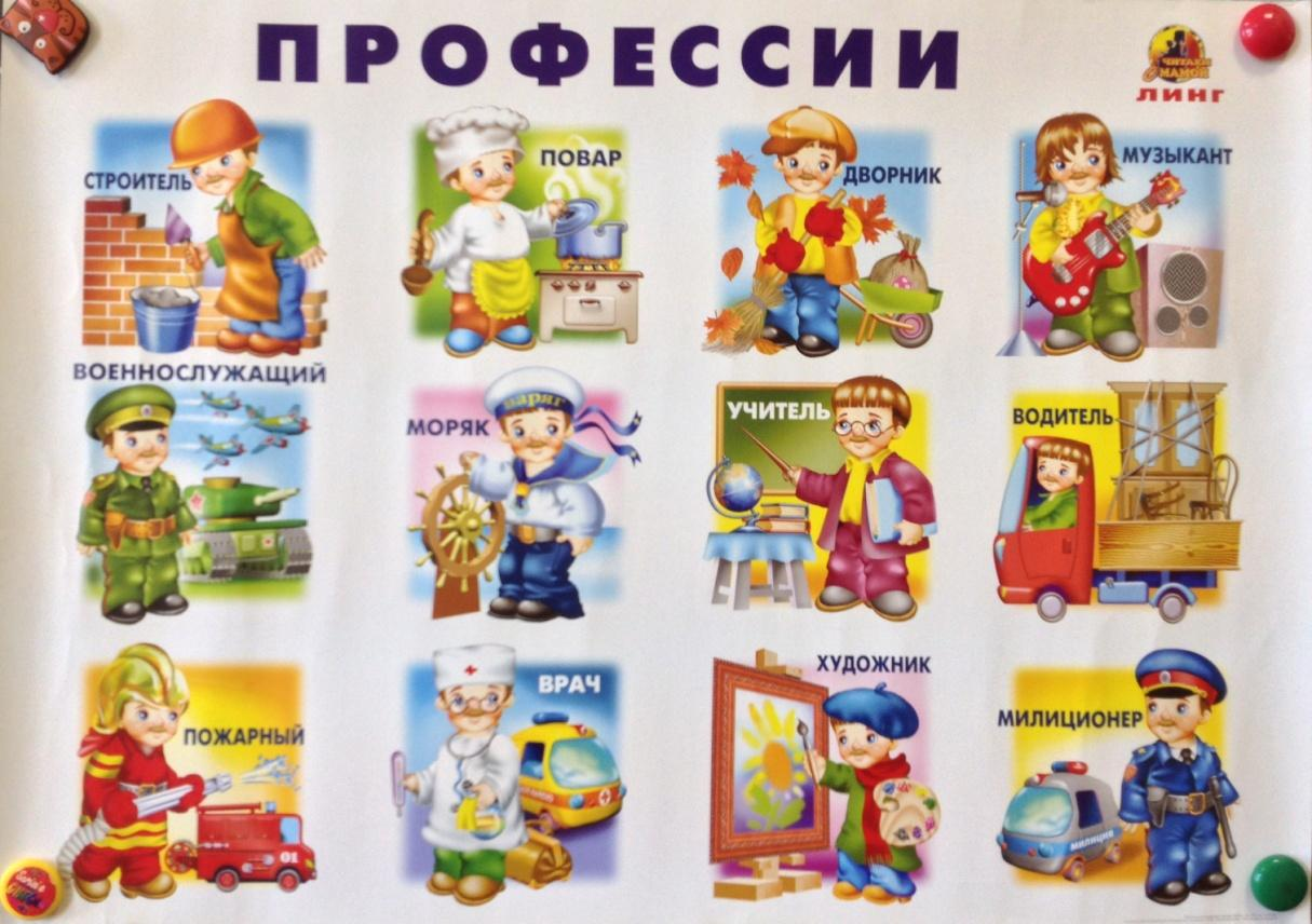 Картинки по профессиям в детский сад