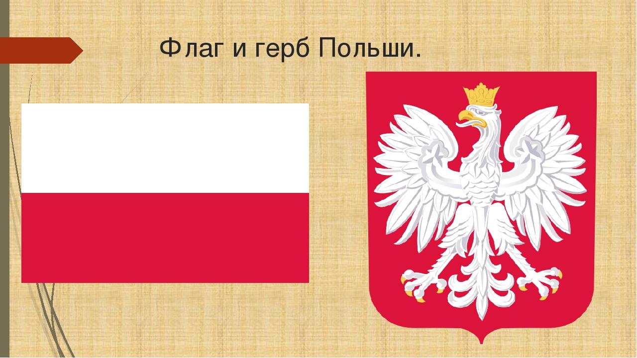 Флаг польши фото и герб