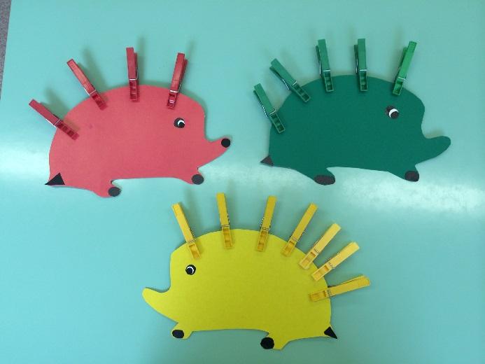 продольных разрезах картинка ежика для игры с прищепками чахлое утро