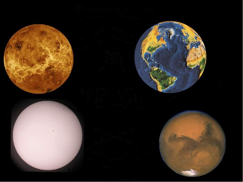 картинки меркурий венера земля марс вне