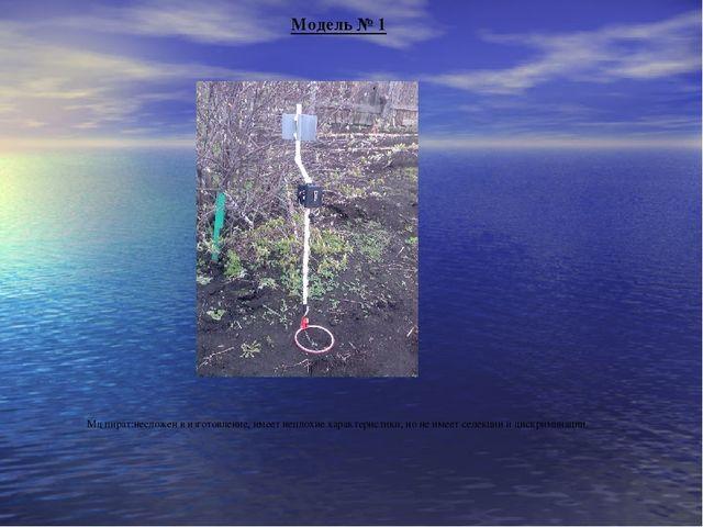 Модель № 1 Мд пират:несложен в изготовление, имеет неплохие характеристики, н...