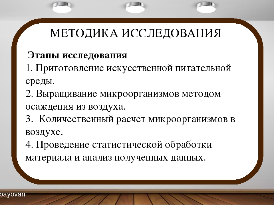 МЕТОДИКА ИССЛЕДОВАНИЯ Этапы исследования 1. Приготовление искусственной пита...