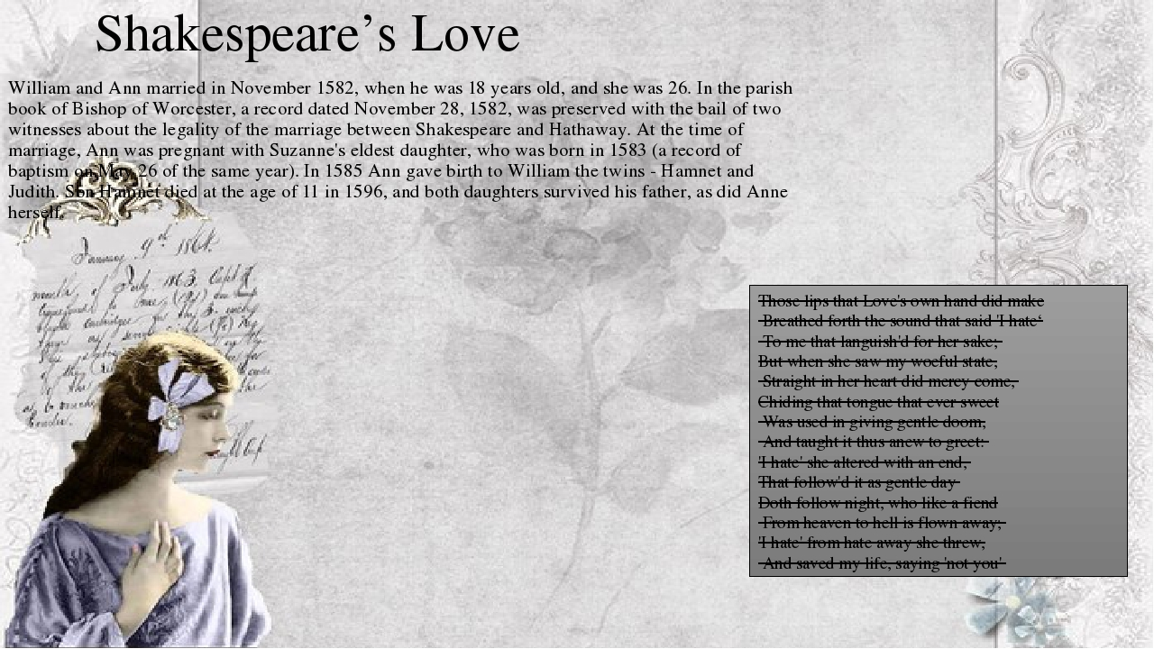 shakespeares plays marriage essay Essay on marriage: essay examples, topics, questions, thesis statement marriage in hollywood essay what is contemporary hollywood marriage like how do hollywood couples get married in what way are the old school marriage traditions different from the modern hollywood marital traditions.