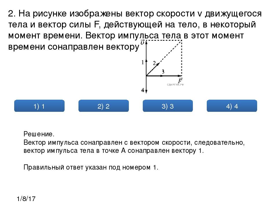 На рисунке изображён вектор скорости и вектор ускорения