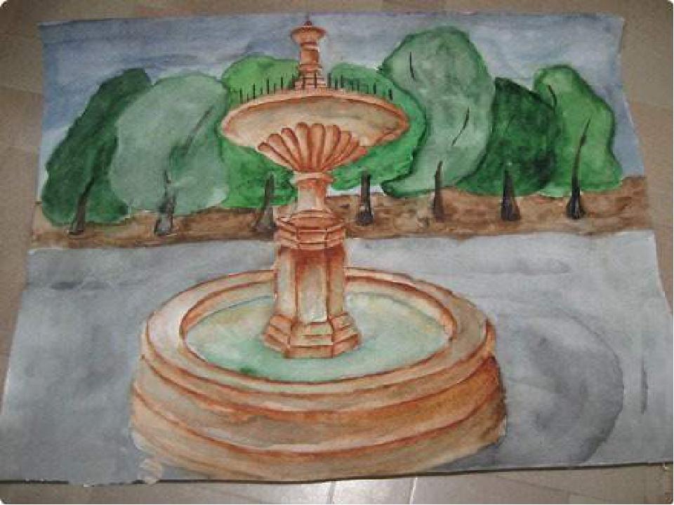 Натальи поздравления, рисунок фонтана 7 класс