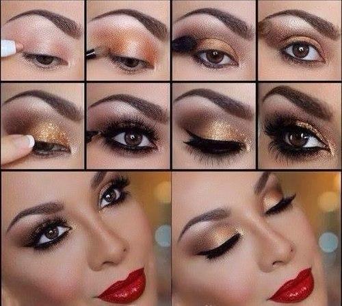 Eye tutorial makeup