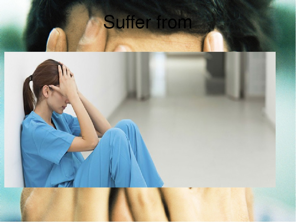 Suffer from