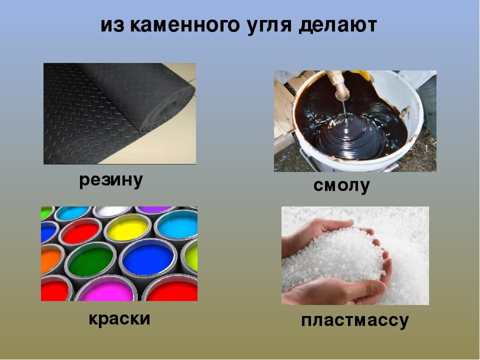 Каменный уголь применение картинки