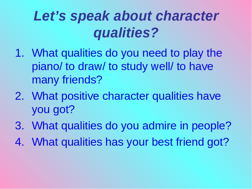 what qualities of character does it take to be a survivor Phrase collection for english learners: 13 qualities of a great athlete in english - phrasemixcom.