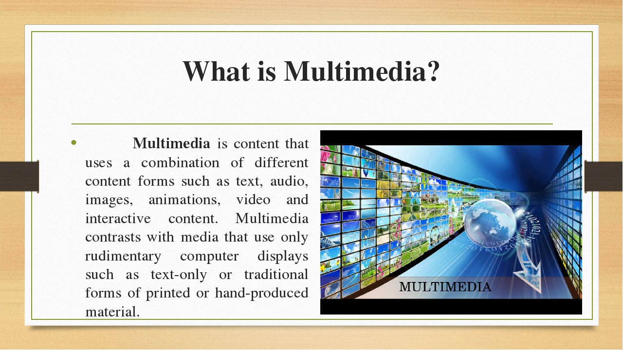 Images of Multimedia Technology Tutorials Point - #rock-cafe