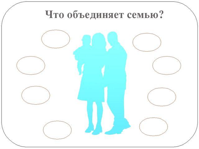 Что объединяет семью?