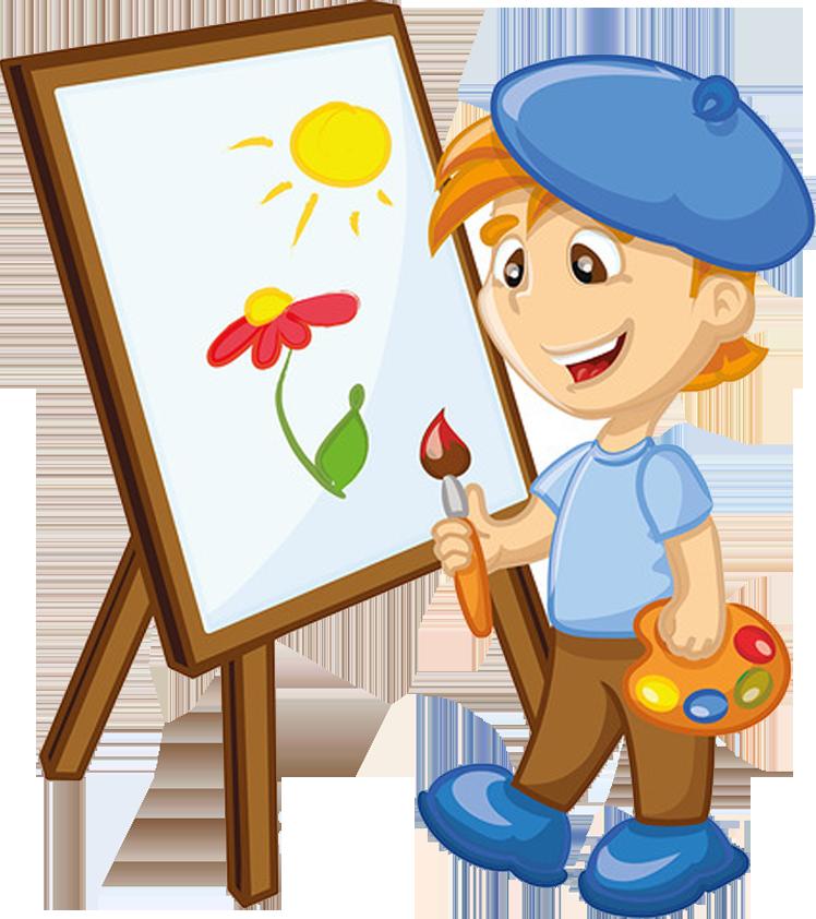 Картинка художник, рисунок