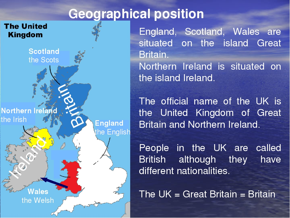 a geographical overview of the united kingdom