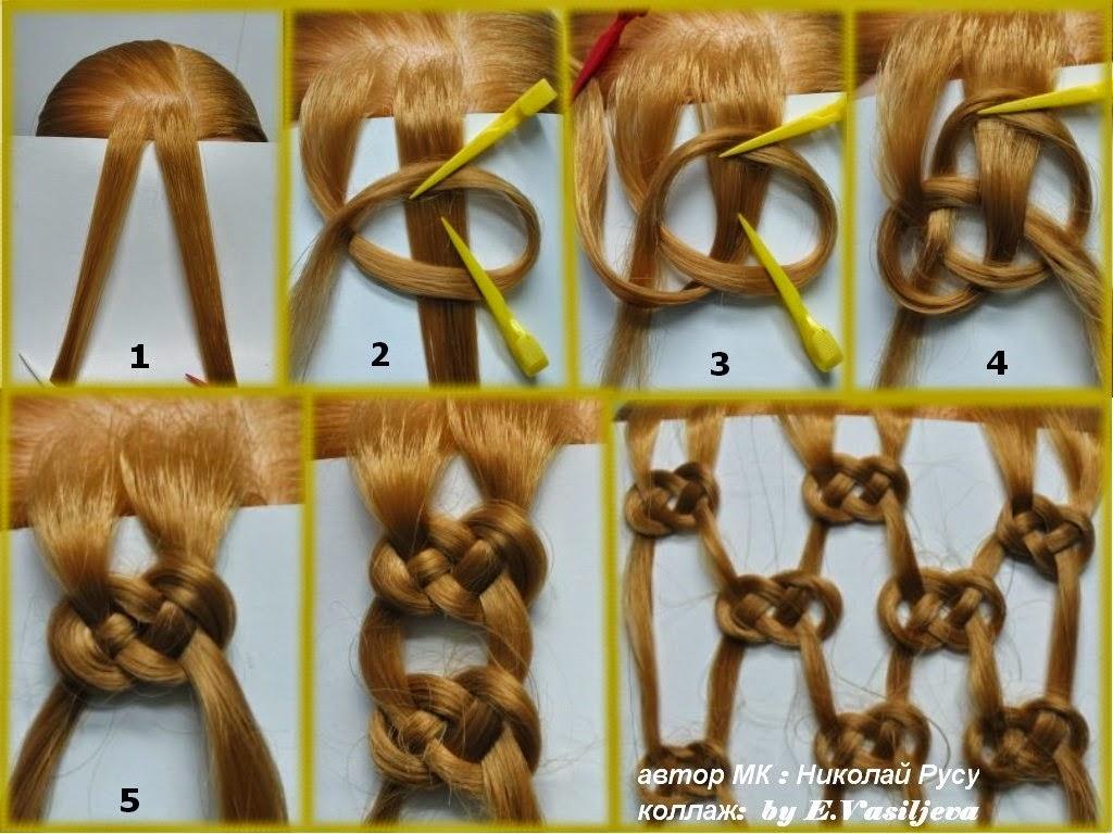Плести косы разных видов