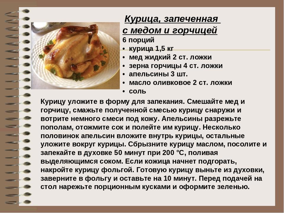 Медово-горчичный маринад для курицы рецепт пошагово