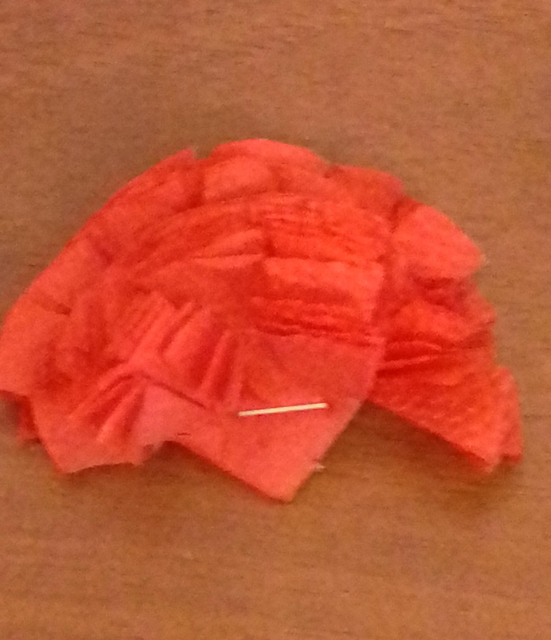 Как сделать гвоздику из цветной бумаги поэтапно 3