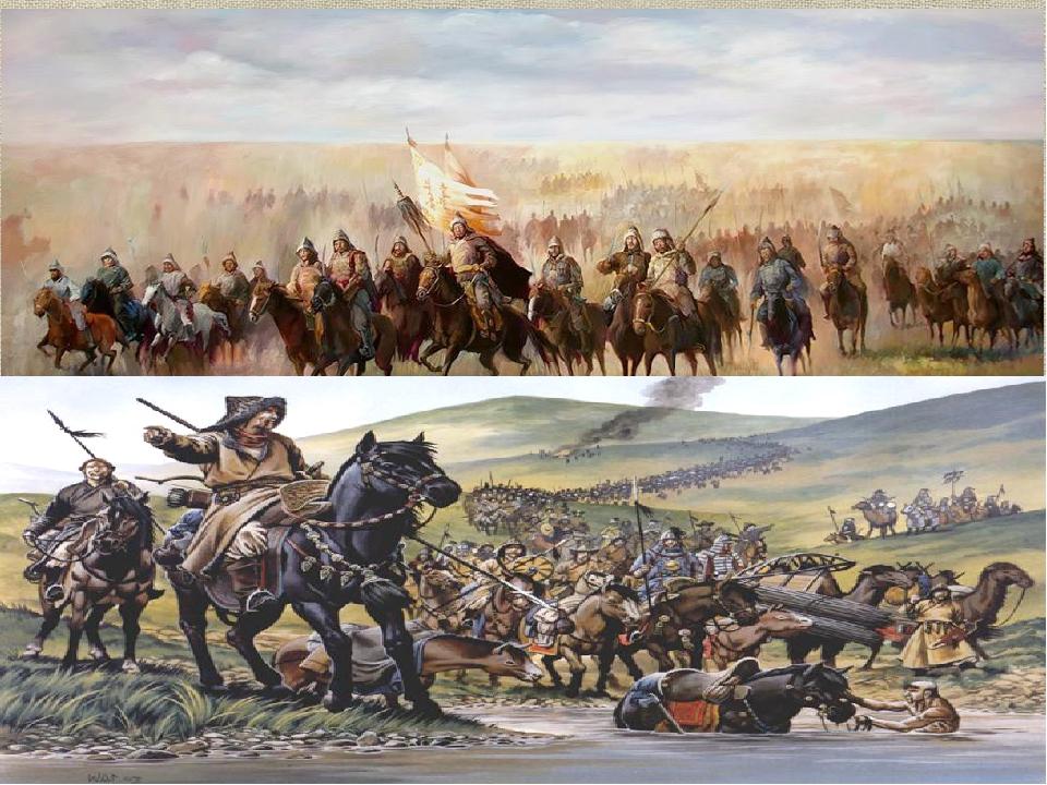 нас иллюстрации к монгольскому нашествию на русь представляет собой