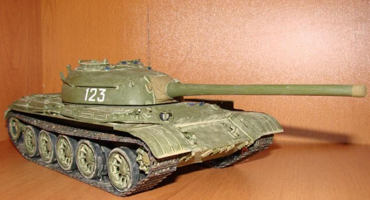 Модели танков из картона