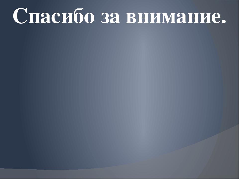 Презентация к ВЫПУСКНОЙ КВАЛИФИКАЦИОННОЙ РАБОТЕ НА ТЕМУ  слайда 14 Спасибо за внимание
