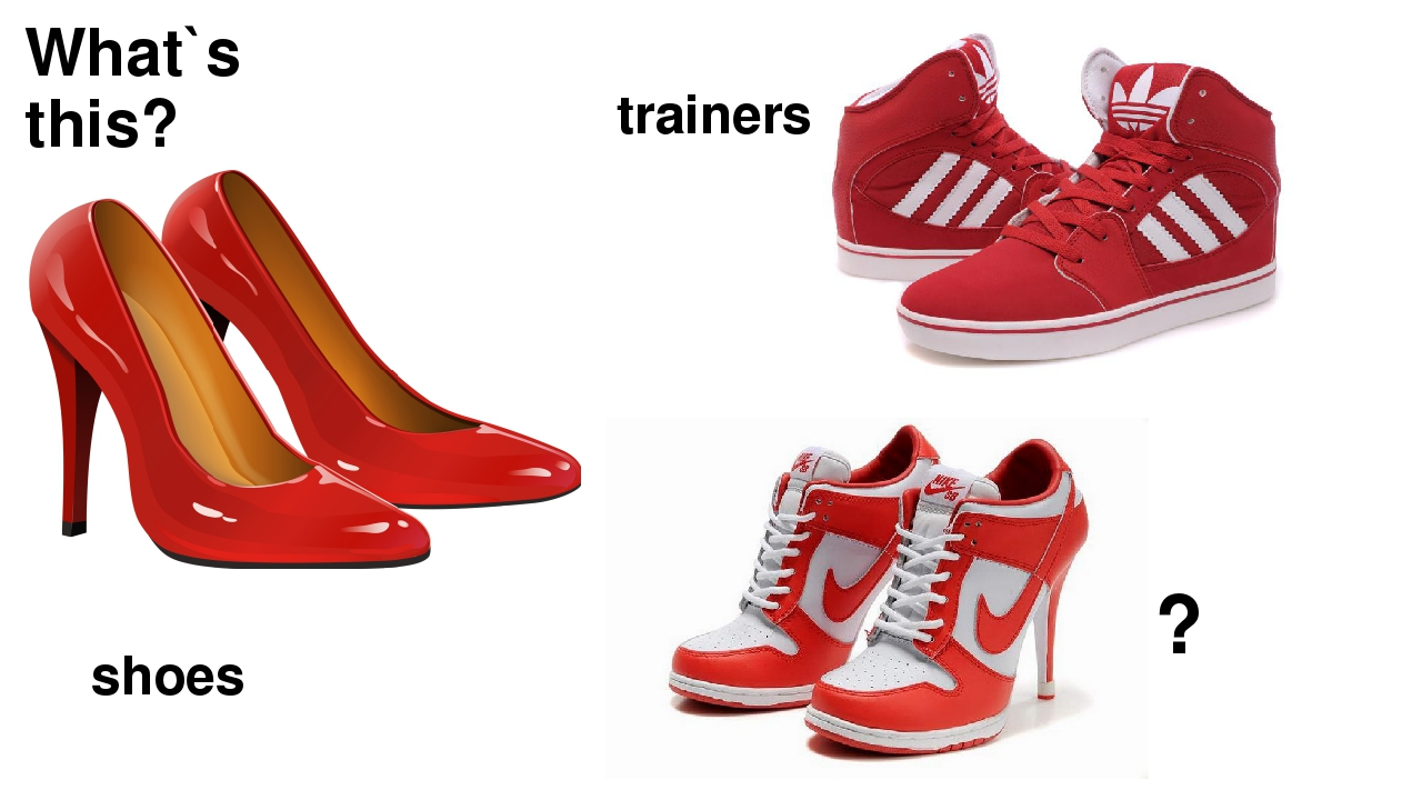 What`s this? shoes trainers ?