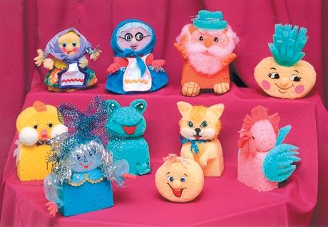Поролоновые игрушки своими руками