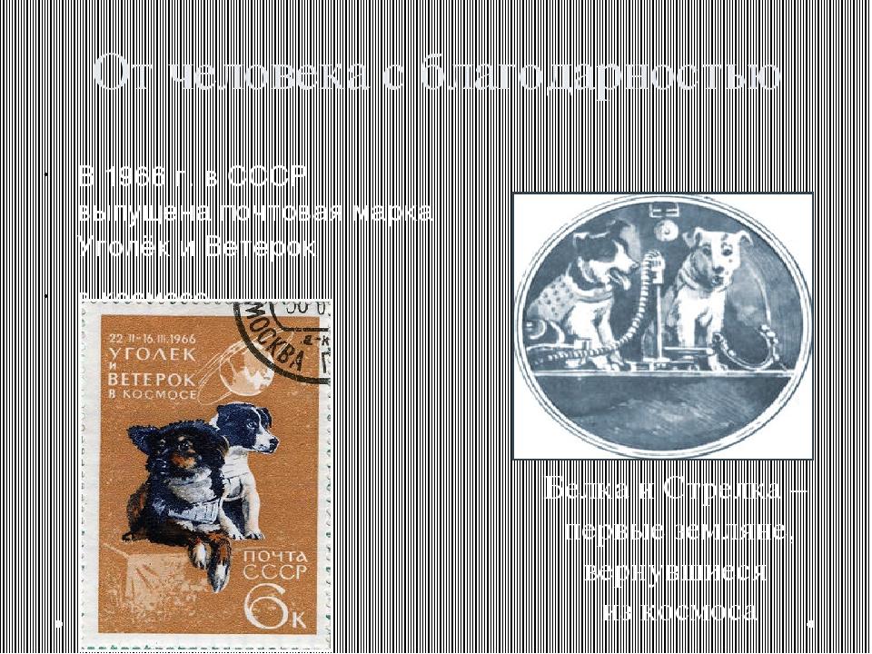 От человека с благодарностью В 1966 г. в СССР выпущена почтовая марка Уголёк...