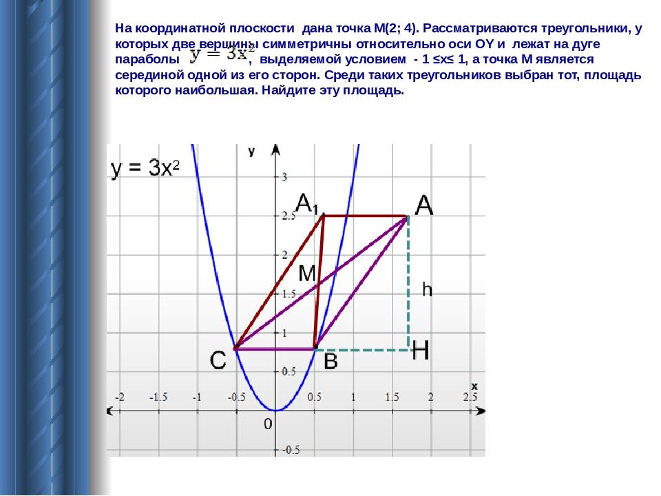 Решение задач на координатной плоскости 8 класс примеры решения задач по алгебре