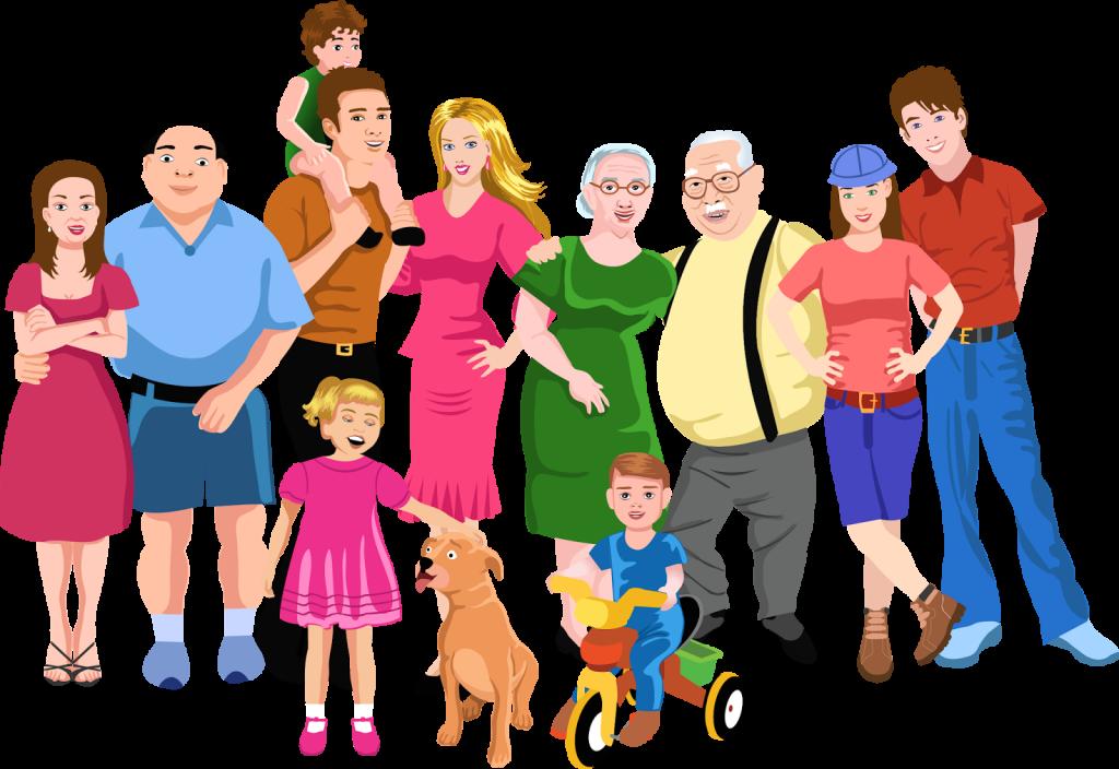 Семья картинка на прозрачном фоне