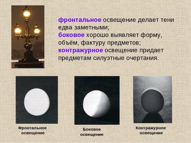 Презентация-урок изо 6 класс освещение свет и тень