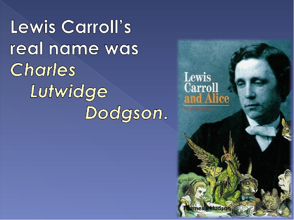 the biography of charles dodgson A wealthy man born in the early 19th century who, after contracting an incurable disease, strikes a bargain with the being who rules wonderland for eternal life.