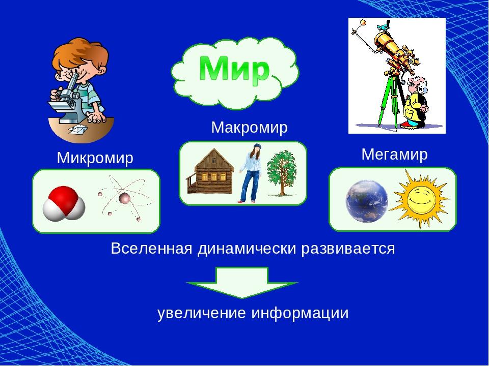 картинки мегамира макромира и микромира