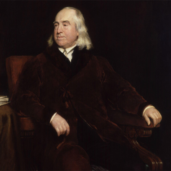 jeremy bentham father of utilitarianism Mill's critique of bentham's utilitarianism  jeremy bentham and js mill both advocate this view  john stuart mill (1806‐1879), the second utilitarian educated at home by his father, is a prominent economist and member of the philosophical radicals.