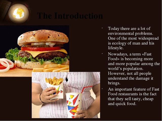 fast food becoming more popular Food safety issues related to ethnic foods have become more which is more than any other domestic fast food foods became much more popular in.
