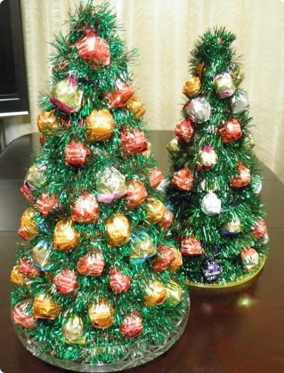 Фото новогодних елок своими руками