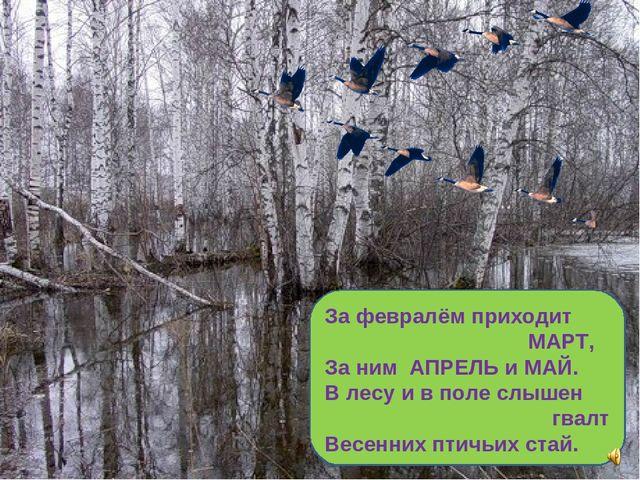 Календарь природы и картинки к ним