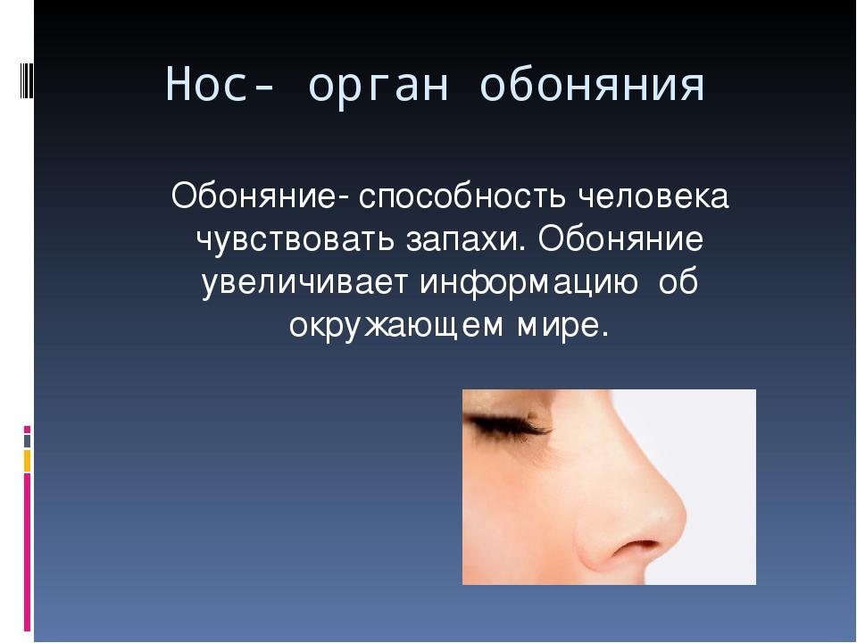 отличном зачем человеку нос картинки приезжает