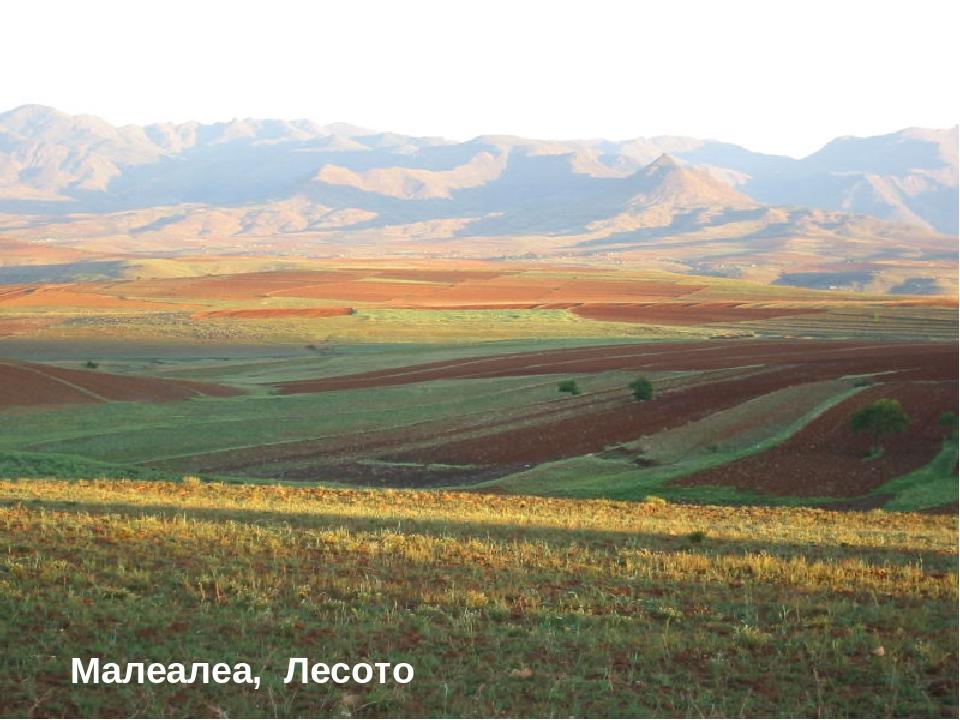 * Малеалеа, Лесото
