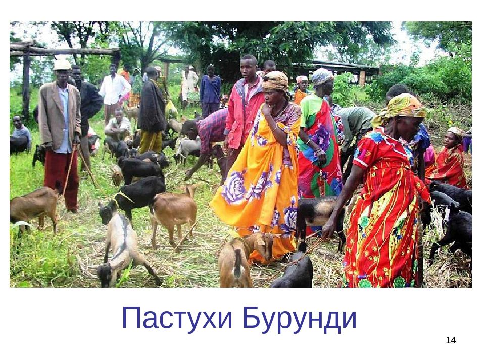 * Пастухи Бурунди