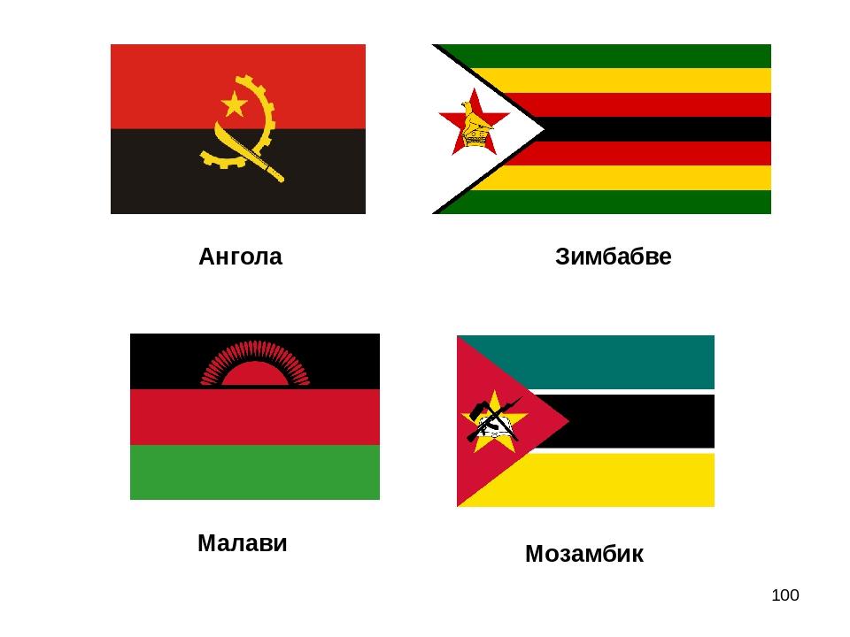 * Ангола Зимбабве Малави Мозамбик