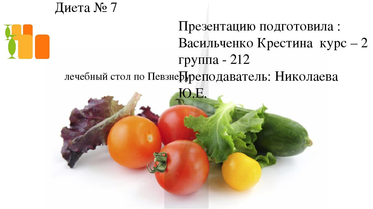 Диета 7а Продукты. Диета №7а (стол №7а): питание при нефрите
