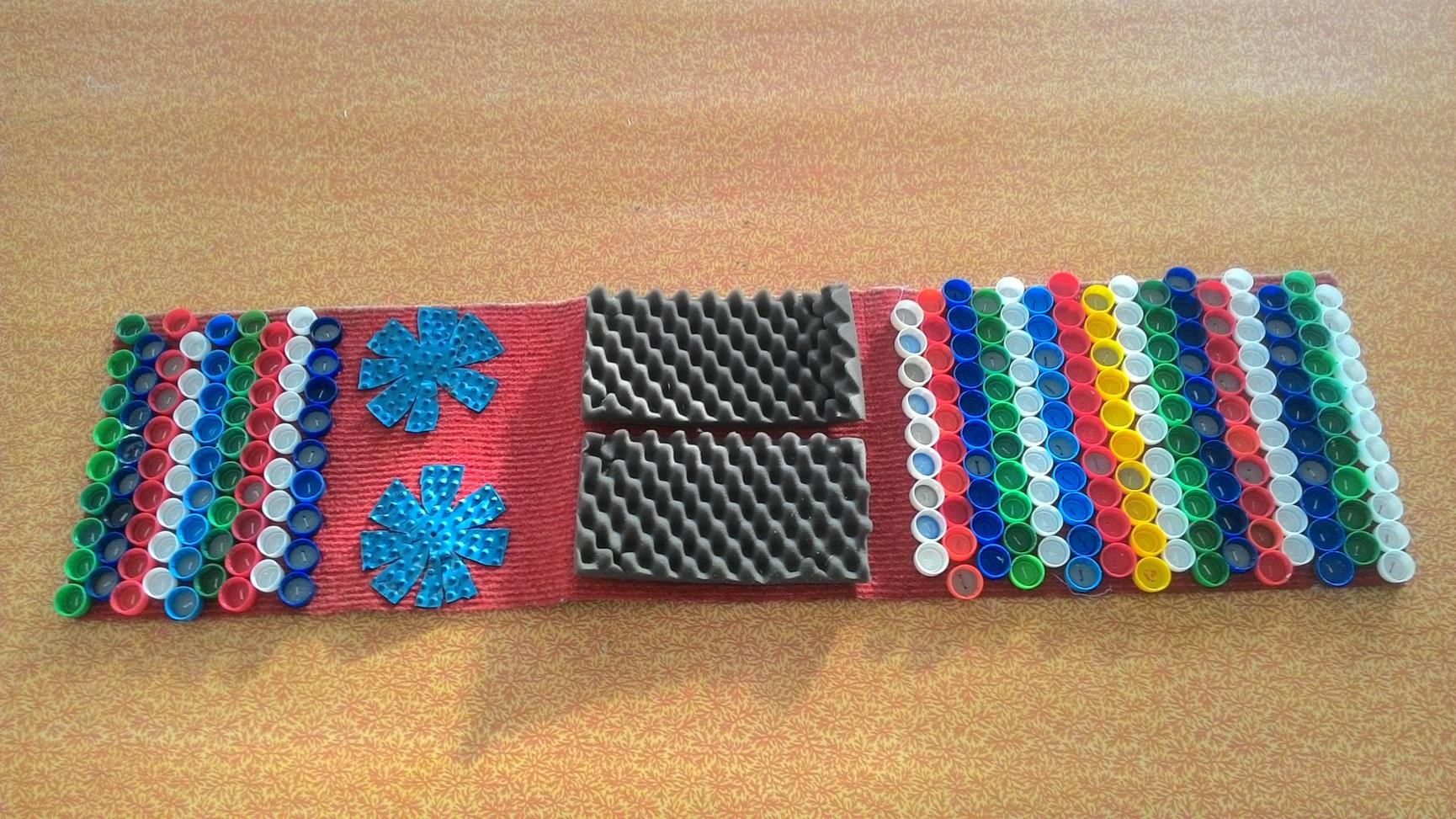 Сделать коврик своими руками для профилактики плоскостопия